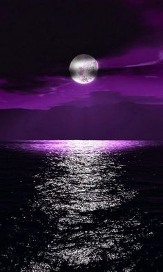 We are always happy and fall in love with beautiful purple scenery. Everyday when we meet the amazing color like these picture may can refresh our life more and Purple Love, All Things Purple, Shades Of Purple, Purple Sky, Deep Purple, Purple Stuff, Shoot The Moon, Photos Voyages, Night Skies