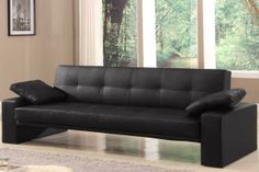 Canapé design Malte Noir Console Extensible, Canapé Angle Convertible, Canapé Design, Sofa, Couch, Furniture, Home Decor, Gray, Fold Out Couch