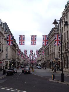 Regent Street, London.