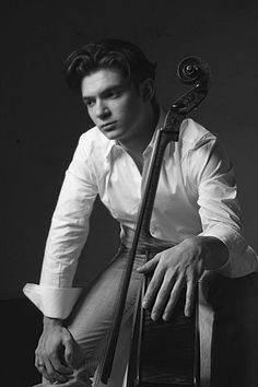 """Gautier Capucon b.1981 is a French cellist.  He studied the cello initially with Annie Cochet-Zakine, then  Philippe Muller (Paris) and Heinrich Schiff (Vienna). He  won many awards and prizes and quickly established a busy international career as a soloist and recording artist His  principal instrument is a 1701 Matteo Goffriller cello which he possesses on loan and hope one day to play on a Montagnana cello as his """"dream"""" instrument of choice."""