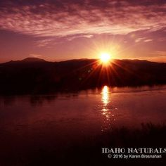 Peaceful sunset on the Snake River, Idaho. #sunset #nature #landscapelovers #outdoor #adventure #explore #scenery #amazingview #light #beauty #peaceful #quiet #evening #night #photography