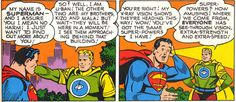 """""""The Three Supermen From Krypton"""" appeared in Superman #65 July/August 1950 written by William Woolfolk and art by Al Plastino."""
