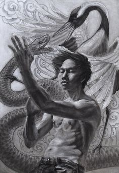 Snake & crane; wing chun roots