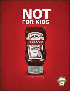 Heinz Hot and Spicy Ketchup by Shenika Downey-Watson, via Behance Ketchup, Spicy, Behance, Hot, Communication