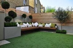 Resultado de imagen para jardines modernos grandes