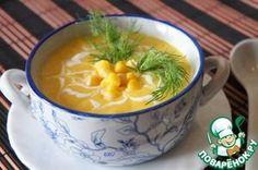 Крем-суп из консервированной кукурузы