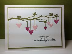 decorated branch die: Simon Says Stamp, #SSSFAVE, by beesmom - Cards and Paper Crafts at Splitcoaststampers