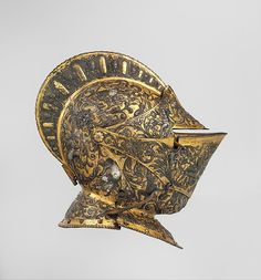 Armor of Henry II, King of France (reigned 1547–59), Helmet Detail.