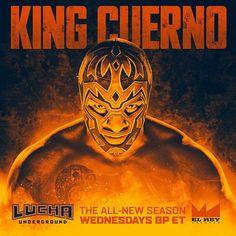 Lucha Underground In the photo Lucha Underground, Wwe, Mexican Wrestler, Season 2 Episode 1, Apocalypse, Hot Guys, Champion, Character Design, Wrestling