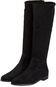 PETER KAISER Stiefel JOHANNA schwarz Peter Kaiser Stiefel, Winter Shoes, Bearpaw Boots, Winter Collection, Riding Boots, Fashion Beauty, Bb, Fall Winter, Clothes