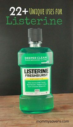 22 Unique Uses for Listerine Mouthwash