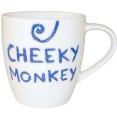 #JamieOliver #MiniMug #CheekyMonkey http://www.palmerstores.com/product/jamie-oliver-mini-cheeky-mug-cheeky-monkey/945/