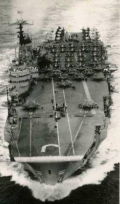 HMS EAGLE early 50s