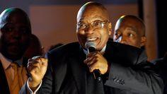 Jacob Zuma Talks on His  Statue Erected by Rochas Okorocha