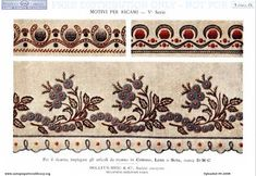 Antique pattern library - lots of historical crochet, needlepoint and sewing magazines and patterns Gold Embroidery, Embroidery Stitches, Embroidery Patterns, Stitch Patterns, Sewing Patterns, Diy And Crafts, Arts And Crafts, Sewing Magazines, Needlepoint Patterns