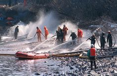 Workers try to remove some of the 11 million gallons of oil spilled by the Exxon Valdez off Alaska in 1989. The ship's third mate may have been up for 18 hours before the accident.- Missing out on sleep pretty much guarantees feeling crummy the next day. But it can also lead to dangerous or even disastrous decision-making.