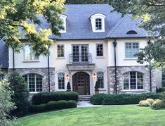 Iron, Exterior, Mansions, Architecture, House Styles, Colors, Garden, Home Decor, House