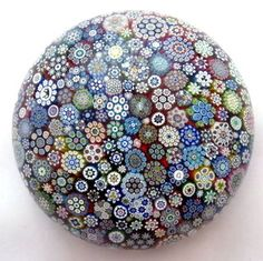 Mille Fiori paperweight by Peter McDougall