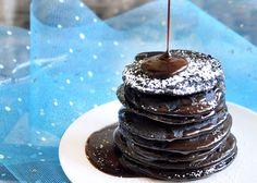 Brownie batter pancakes?!