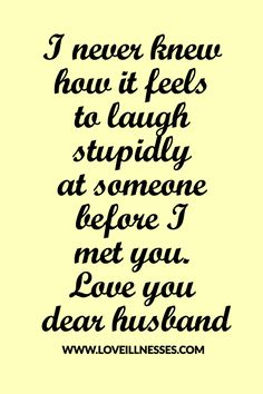 Lucky to be your wife.