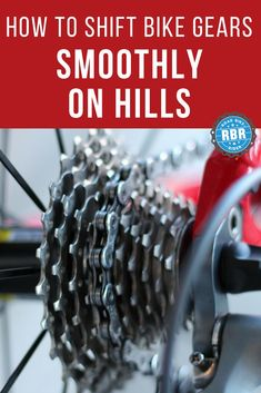Learn how to shift bicycle gears smoothly without clunking noises so that you don't harm your bicycle chain or cassette. Mountain Bike Shoes, Mountain Bicycle, Mountain Biking, Cycling Tips, Cycling Quotes, Women's Cycling, Cycling Jerseys, Cycling Workout, Cycling For Beginners