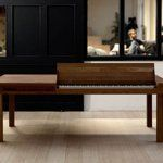 Piano Dining Table. Tags, Piano, Electric Piano, Save Space, Space Saving Dining Room, Inspiration, Cool, Unique, Chic