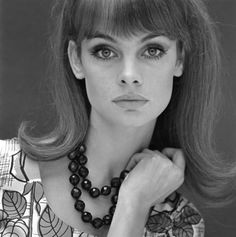 Jean Shrimpton by John French.