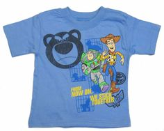Disney Toy Story Graphic Toddler Boys Tee Shirt Short Sleeve Blue 2t 3t 4t nwt  #Disney #Everyday