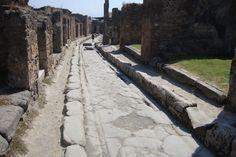 street scene , Pompei