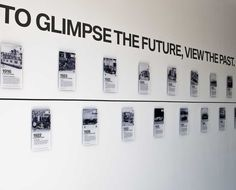 bmw timeline wall - Google Search