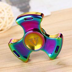 >> Click to Buy << Do Dower Fidget Spinner Steel Hand Spinner 688 Hybrid Ceramic Bearing Educational Toys for Children Adult Gifts Tri-spinner Hand #Affiliate