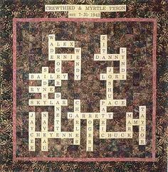 Family Puzzle Quilt Pattern - The Virginia Quilter
