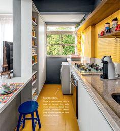 Cocinas estrechas, ideas   Decoración Hogar, Ideas y Cosas Bonitas para Decorar el Hogar