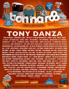 Bonnaroo is happening now! 80,000 happy fanzas are enjoying the 150 performances on 700 acres of Tennessee nature.   The event comes to an epic close tomorrow night when headliner Tony Danza takes the stage. It's going to be legendary.