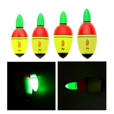 Fishing Float EVA Electronic LED Light Bobber Bobbers Fish Tackle Tool