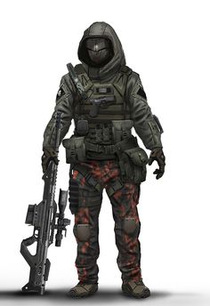 Call of Duty: Black Ops 2 Concept Art by Eric Chiang – Concept Art ...