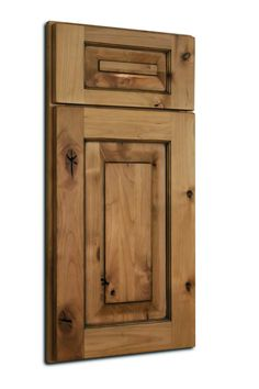 Add a charming rustic feel to any room with Baldwin. Color: Natural with Brown Glaze Wood Species: Knotty Alder