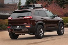 Jeep Cherokee Trail Carver by Mopar