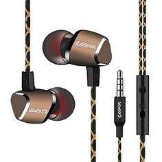 be2a5be6ec5 Wired earbuds, COSPOR Magnetic In-ear Stereo earphones, 3.5mm handsfree  sports headphones