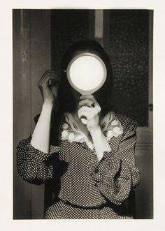 Christine with Mirror - André Gelpke, 1977.