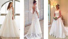 Μοντέρνοι γάμοι: Σύγχρονα νυφικά φορέματα. Lace Wedding, Wedding Dresses, Fashion, Bride Dresses, Moda, Wedding Gowns, Wedding Dress, Fasion, Bridal Gowns