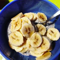 Pudding di semi di Chia e banana
