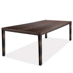 hampton java - hampton large dining table (java)
