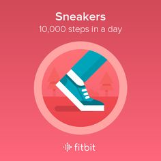 I took 10,000 steps and earned the Sneakers badge! #Fitbit