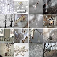 Winter whites #silver  #white  #Christmas  #winter