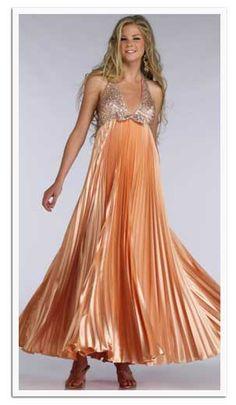 pregnant prom dress