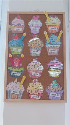 Narozeninovník Second Grade, Preschool, Education, Children, Canvas, Kids Part, Manualidades, Creative, Kunst