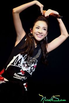 2014: Sandara Park 2NE1 AON Guangzhou
