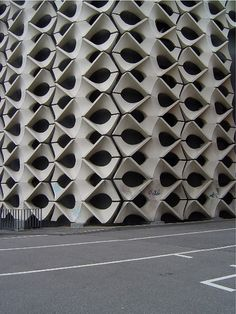 concrete facade in Chemnitz, photo by Matahina, via Flickr