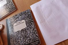 how to decorate notebooks